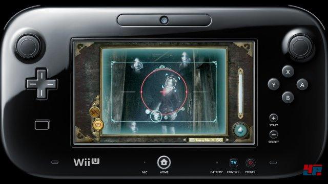 Nur auf dem Gamepad sieht man genau, was man anvisieren sollte.