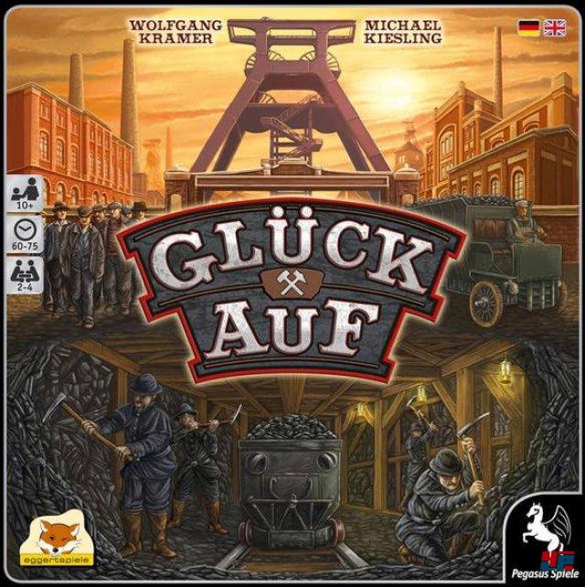 Glück Auf! ist für zwei bis vier Spieler konzipiert und auf Deutsch bei Pegasus Spiele erschienen. Es kostet 40 Euro.
