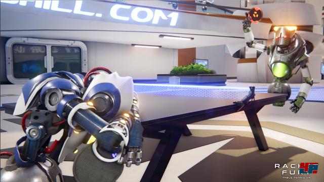 Screenshot - Racket Fury: Table Tennis VR (HTCVive)