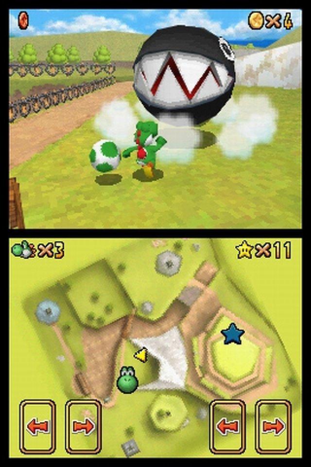 Das Spiel beginnt ganz untypisch mit Yoshi - und spielt sich dadurch auch anders.