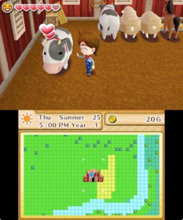 Screenshot - Harvest Moon: Das verlorene Tal (3DS) 92504994