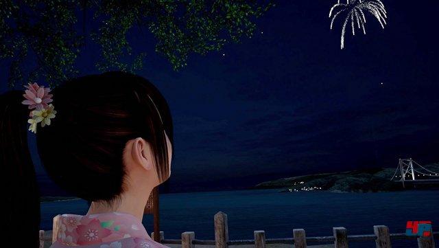 Gemeinsam mit Hikari das Feuerwerk bestaunen: Irgendwie romantisch. Wissen, dass man als Lehrer mit einer Schutzbefohlenen unterwegs ist: Irgendwie merkwürdig!