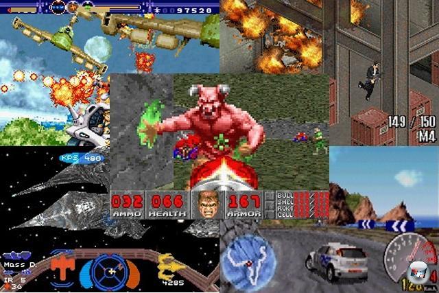 Gelegentlich war der GBA sogar für technische Meisterleistungen zuständig, die man dem winzigen Kasten nie im Leben zugetraut hätte: Z.B. mit Max Payne Advance, bei dem es Entwickler Mobius Entertainment geschafft hat, nicht nur das Leveldesign des Vorbilds zu übernehmen und in eine Iso-Perspektive zu packen, sondern auch viele Zwischensequenzen mit durchgehender Sprachausgabe auf das gerade mal 16 MB fassende Modul zu quetschen! Oder Gunstar Future Heroes von den Technikgöttern Treasure, das mit einigen der brillantesten Zoom- und Scroll-Effekten brillierte. V-Rally 3, das flüssige und detailreiche Polygongrafik bot. Wing Commander Prophecy, das zwar spielerisch nicht aus den Latschen haut, aber technisch ein Hammer sondergleichen ist. Und nicht zu vergessen Doom, das man einfach nicht auf einem 2D-Handheld erwartet - und doch ist es auch hier großartig (von den jugendschutzbedingten Schnitten mal abgesehen). 1805143