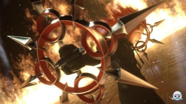 Screenshot - Kingdom Hearts 3D: Dream Drop Distance (3DS)