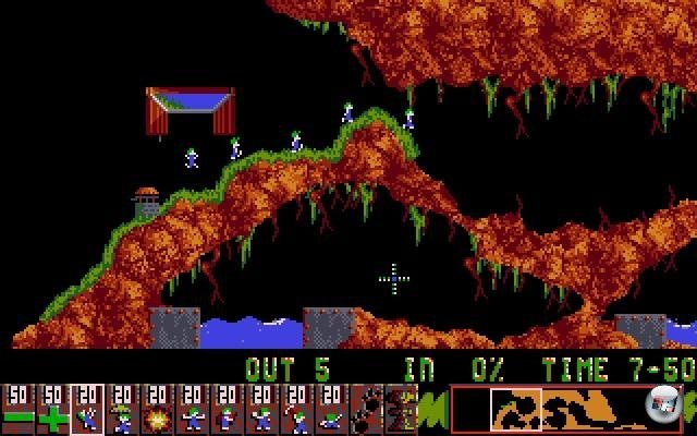 Screenshot - Lemmings (Oldie) (PC) 2347867