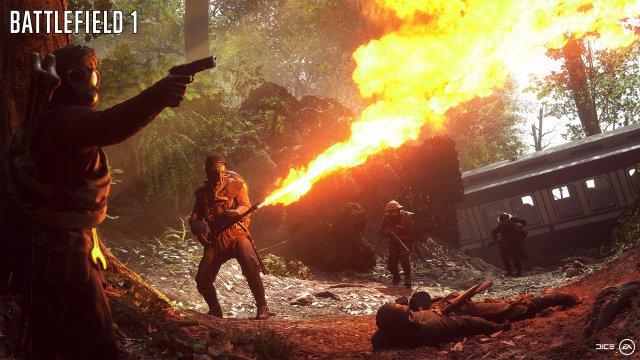 Die gut gepanzerten Einheiten mit Flammenwerfern gehören zu den gefährlichsten Gegnern.