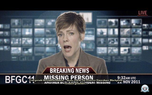 Was ist vorgefallen in Ravenhearst, dass sogar das Fernsehen berichtet?