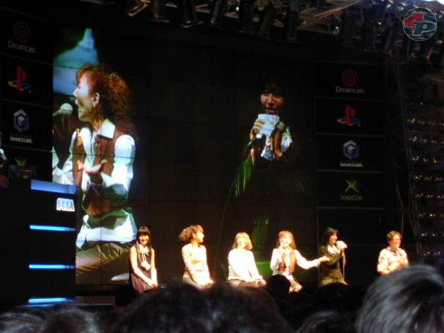 Die Sprecherinnen von Iris, Lobelia, Sakura, Reni und Orihime.