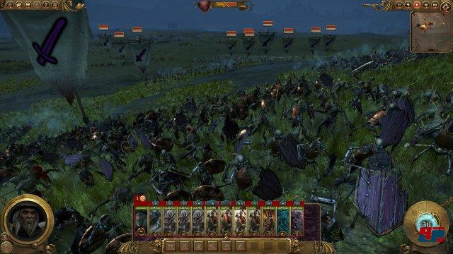 In ihrer Wucht übertreffen die Schlachten die der historischen Tota-War-Vorgänger.