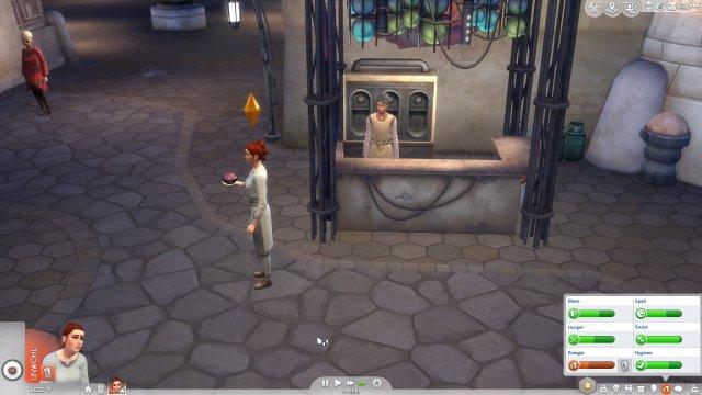Screenshot - Die Sims 4 Star Wars: Reise nach Batuu-Gameplay-Pack (PC) 92624201