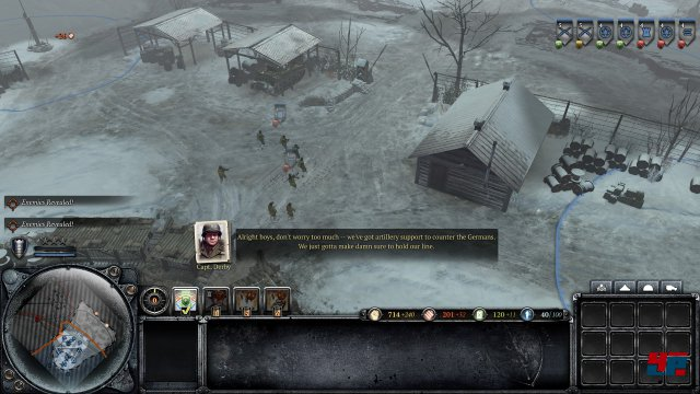 Screenshot -  Company of Heroes 2: Ardennes Assault (PC)