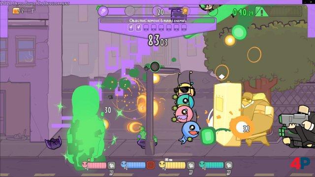 Screenshot - Alien Hominid Invasion (PC)