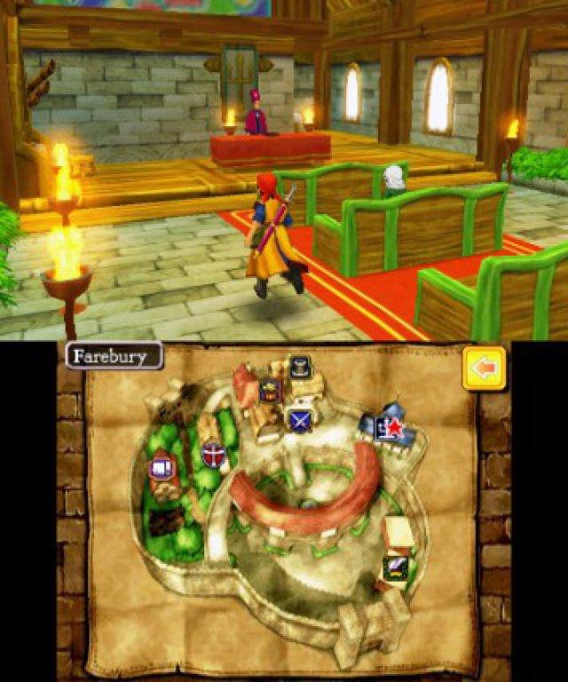 Screenshot - Dragon Quest 8: Die Reise des verwunschenen Königs (3DS)