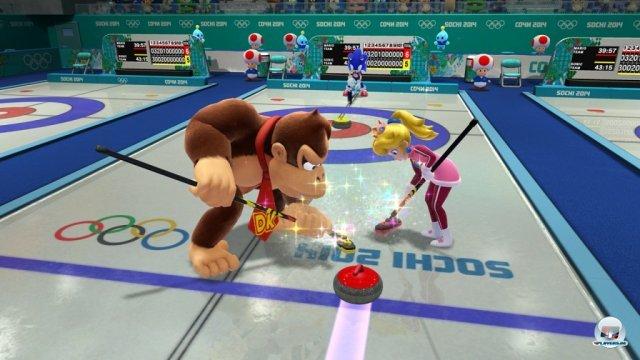 Screenshot - Mario & Sonic bei den Olympischen Winterspielen: Sotschi 2014 (Wii_U)