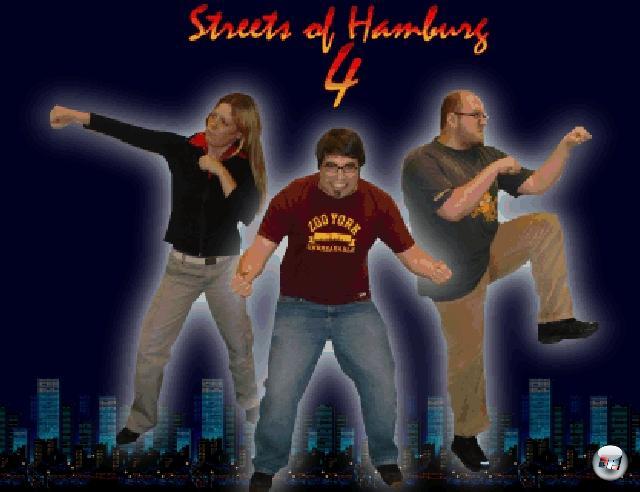 Tja, so einfach ist das! Berücksichtigt ihr diese Ratschläge, ist das weltbeste Oldschool-Beat-em-Up schon so gut wie erschaffen! Okay, ihr müsstet vielleicht noch programmieren können. Oder das eine oder andere Talent für Pixelgrafik haben. Und mit Trackern umgehen, denn ein Oldschool-Beatm-em-Up braucht auch einen Oldschool-Beat-em-Up-Soundtrack! Aber prinzipiell ist alles geschafft! Seht nach oben: »Streets of Hamburg 4« ist auch ohne Bewegung ein voller Erfolg! 1715464