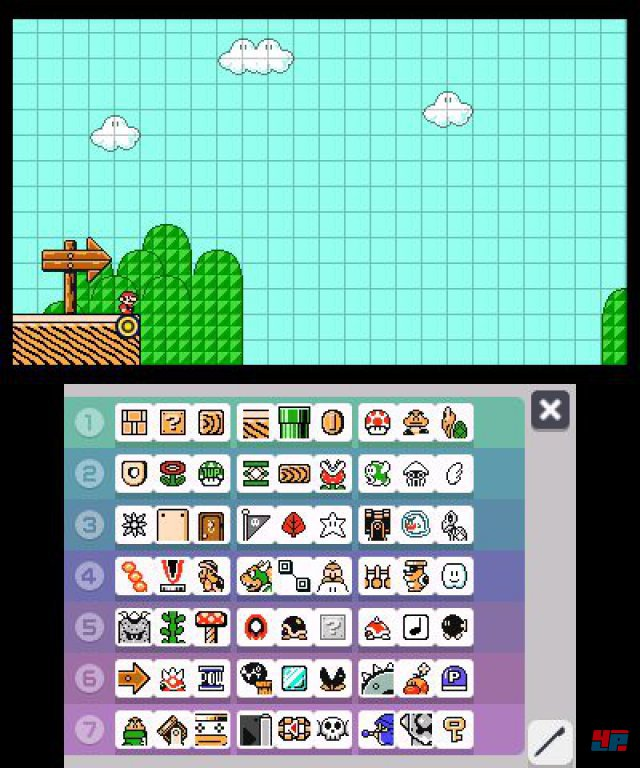 Screenshot - Super Mario Maker (3DS) 92537097