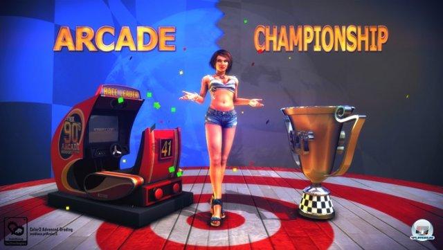 Screenshot - The 90's Arcade Racer (PC) 92440797