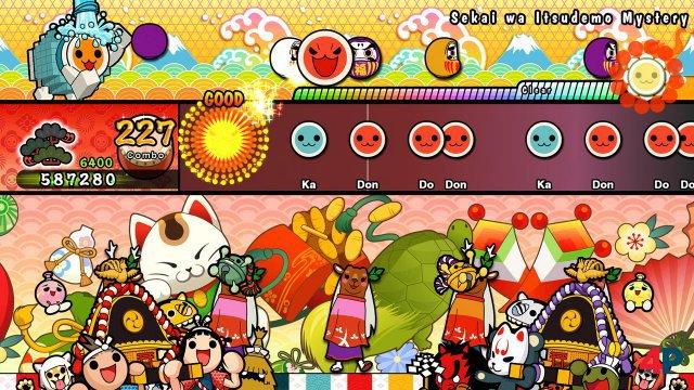 Screenshot - Taiko No Tatsujin - Rhythmic Adventure Pack (Switch)
