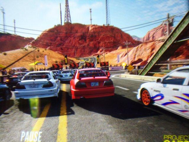 Projekt Cars 3 zeigte sich nicht ganz so überfordert von der hohen Auflösung wie sein weniger arcadelastiger Vorgänger.