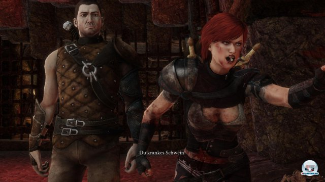 Calandra, die Schwester von Cairon, begleitet einen meist automatisch.