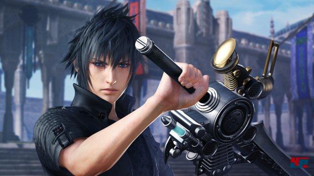 Auch Prinz Noctis aus Final Fantasy 15 findet sich in der illustren Riege an Kämpfern aus allen Hauptteilen der Serie.
