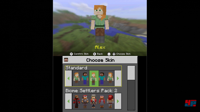 Screenshot - Minecraft (N3DS)