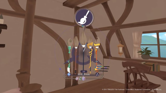 Screenshot - Little Witch Academia: VR Broom Racing (OculusQuest, VirtualReality)