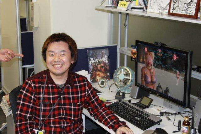 Badespaß <br><br> Game Director Seiji Shimoda scheint seine Lieblingsstelle im Spiel gefunden zu haben: In dieser planscht Held Asura mit einem seiner Widersacher und leicht bekleideten Damen in einem Pool und genehmigt sich das eine oder andere Gläschen Alkohol. 2317677