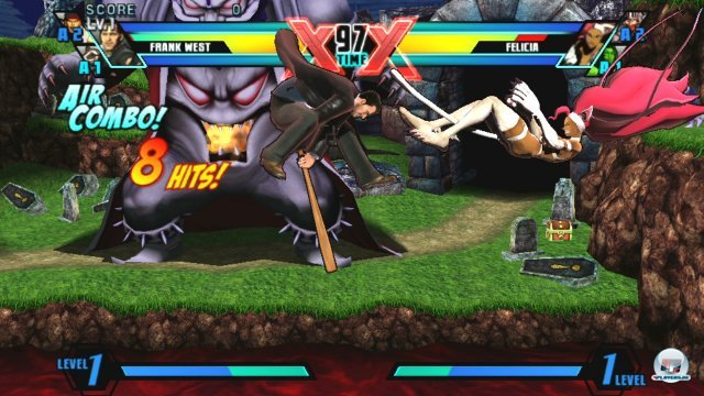 Screenshot - Ultimate Marvel vs. Capcom 3 (PS_Vita)
