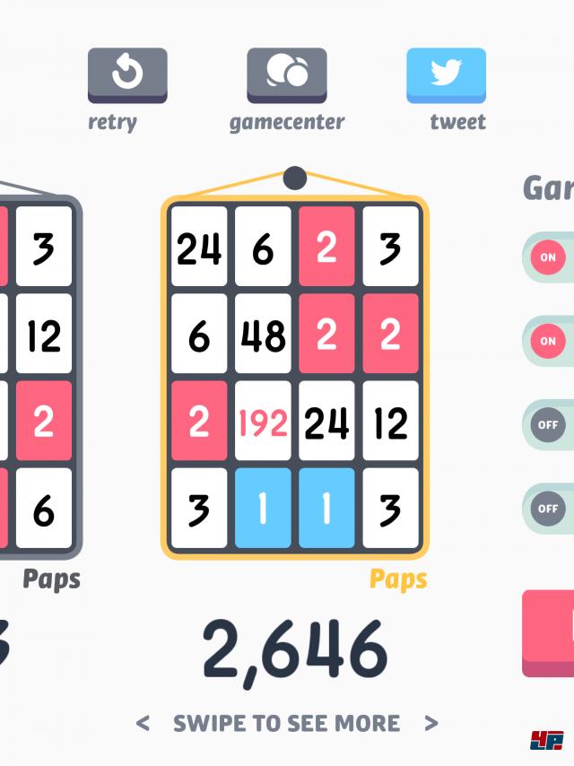 Screenshot - Threes! (iPad) 92483434
