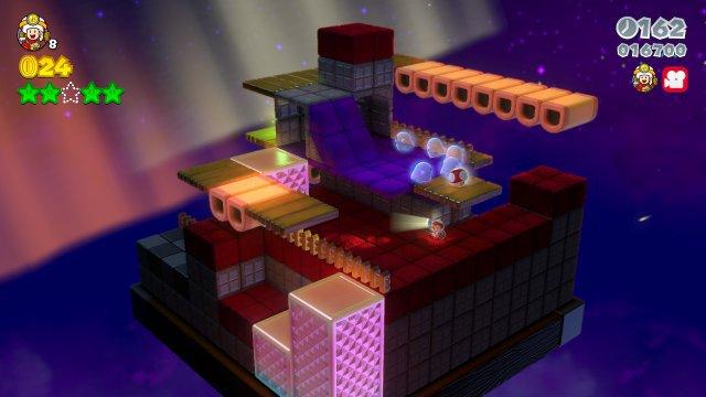Die Rätselräume mit Captain Toad sorgen willkommene Abwechlsung - und bekanntlich wurde aus dem Konzept ein eigenes (tolles) Spiel.