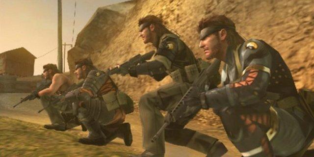 Vergangenheit und Zukunft <br><br> Wie schon Snake Eater und Portable Ops stellt auch Peace Walker die nukleare Abschreckung des Kalten Krieges und den Konflikt zwischen Ost und West in den Mittelpunkt. U.a. entsteht durch Rückblenden mit