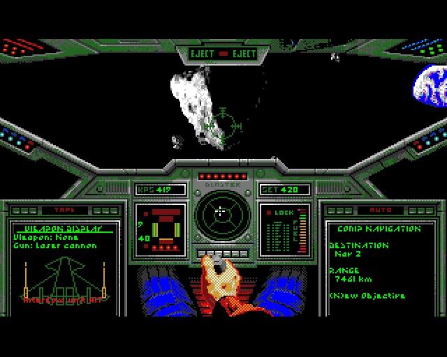 Flügelmann-Desaster <br><br>  Wie groß der technische Unterschied zwischen PC und Amiga zwischenzeitlich geworden war, zeigt z.B. der Origin-Klassiker Wing Commander: Am PC erwarteten die Piloten mit einem potenten System (im Idealfall ein 386er) erstklassige Raumschlachten gegen die Kilrathi in einer bisher nie dagewesenen Qualität. Und am Amiga? Ohne Turbokarte glichen die Ausflüge in den Weltraum einer Diashow und der so herbei gesehnte Titel war auf Standard-Systemen trotz der geringeren Auflösung und weniger Farben praktisch unspielbar.   2133128