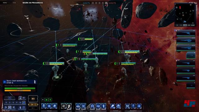Die reduzierte Benutzeroberfläche erlaubt einen besseren Blick auf das Kampfgeschehen.