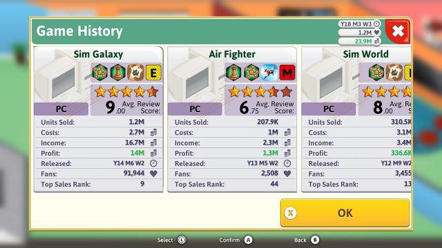 Screenshot - Game Dev Tycoon (Switch)