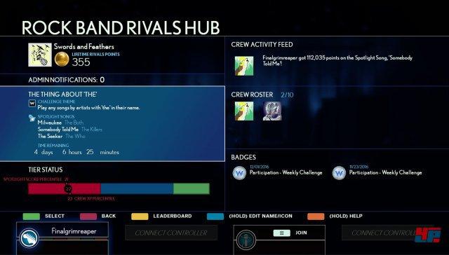 Screenshot - Rock Band Rivals (PS4) 92537231