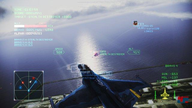 Screenshot - Ace Combat Infinity (PlayStation3)