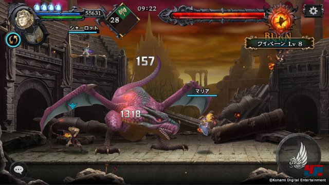 Screenshot - Castlevania: Grimoire of Souls (iPad)
