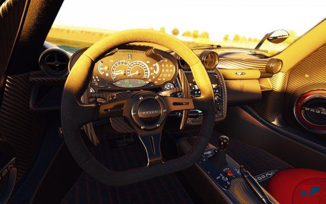 Die Cockpits strotzen nur so vor Details.