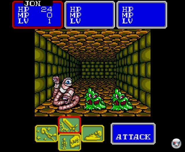 <br><br>...Shining in the Darkness (1991) - zwar gab es schon davor exzellente Rollenspiele auf dem Mega Drive (wie Phantasy Star 2), aber das Meisterwerk von Climax Entertainment sorgte neben rauchenden Köpfen auch für auf Teppichhöhe baumelnde Kinnladen: Die Grafik war einfach jenseits von Gut und Böse! 1876113