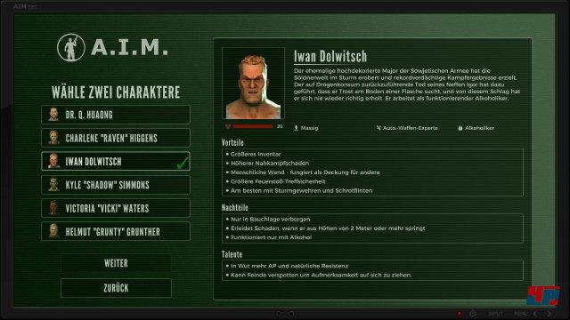 Mit Iwan Dolwitsch kehrt eine wichtige Figur aus dem Jagged-Alliance-Universum zurück - leider ohne seinen Bruder Igor. Damit bleibt das I-Team unvollständig.