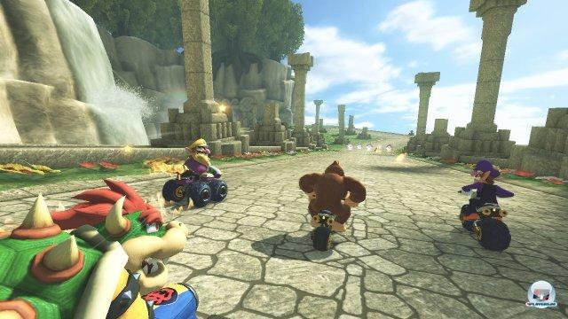 Es ist bunt, es ist spaßig, es ist Mario Kart.