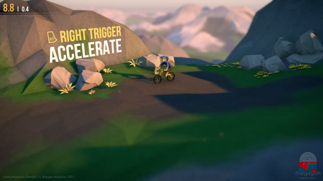 Screenshot - Lonely Mountains: Downhill (Linux) 92554380