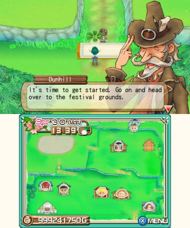 Screenshot - Harvest Moon 3D: A New Beginning (3DS) 92469880