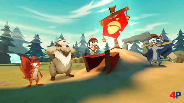 Screenshot - Acron: Attack of the Squirrels! (Android)