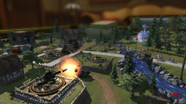 Am Grundkonzept mit der Mischung aus Tower Defense und Action wurde nichts geändert.