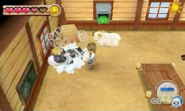 Screenshot - Harvest Moon 3D: A New Beginning (3DS) 92469887