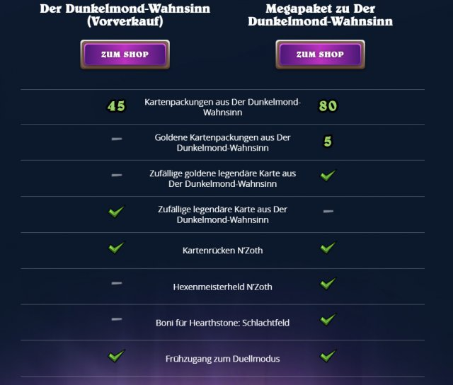 Screenshot - Hearthstone: Der Dunkelmond-Wahnsinn (Android, iPad, iPhone, Mac, PC)