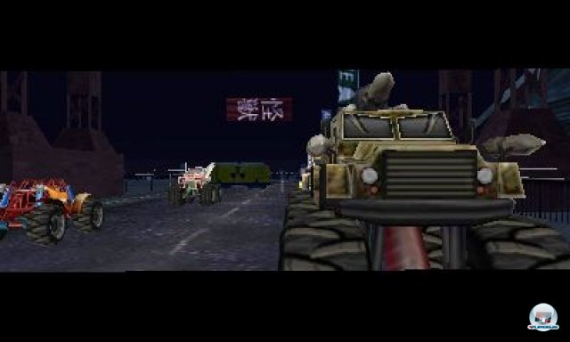 Screenshot - Monster 4x4 3D (3DS)