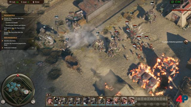 Sobald die Kampfmaschinen ins Spiel kommen, werden die Gefechte intensiver, wuchtiger und viel besser.